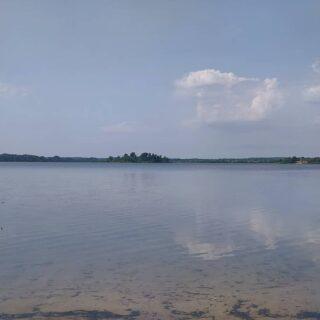 Благодать. Самое лучшее озеро для меня . После шторма и волн немного мути принесло к берегу, а так-чистейшее.  #nptravelnotes #псковщина #отрадное #деревняотрадное #озероасцо #чистоеозеро #озеро #псковскаяобласть #новосокольники #асцо